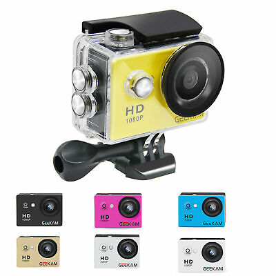 """2"""" Sports Action Camera HD 1080P wifi Waterproof for GoPro Video Camcorder 12MP"""