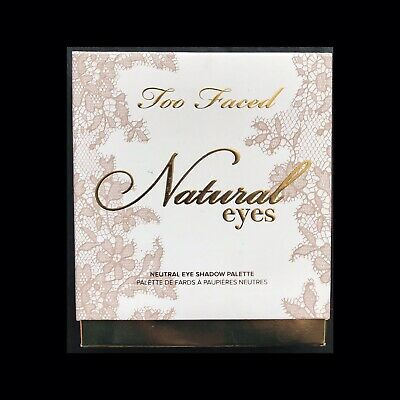 NEW Too Faced natural eyes neutral eye shadow palette