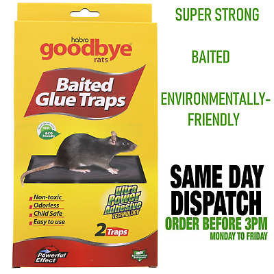 Rat Mouse Glue Trap Sticky Glue Pad - Super Strong and Safe (24HR POST) - Cheap
