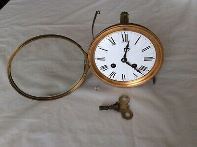 Antique French Working Clock 'Movement'.