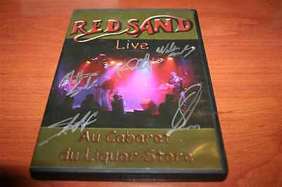 RED SAND Live au cabaret du liquor store !!! VERY HARD TO FIND SIGNATURE LIMITED