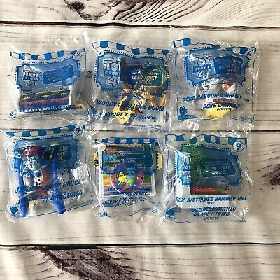 Brand New Sealed McDonald's Happy Meal Toy Story 4 Toys Lot Of 6