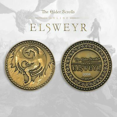 The Elder Scrolls Online Limited Edition Numbered Rare Collectors Coin - Elsweyr