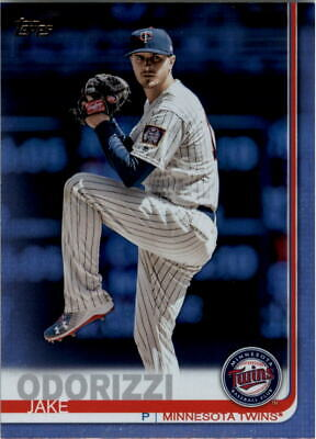 2019 Topps Rainbow Foil #63 Jake Odorizzi - NM-MT