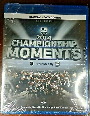 NHL Stanley Cup 2014 Champions Los Angeles Kings Blu-ray + DVD Combo Pack
