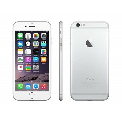 Excellent Apple iPhone 6 64GB Silver Carrier Unlocked *iCl Locked