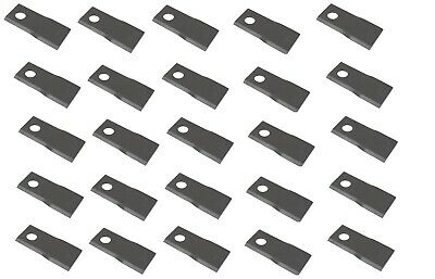 Disc Mower Blades LH Box of 25 for Case IH and Ford New Holland 9847684