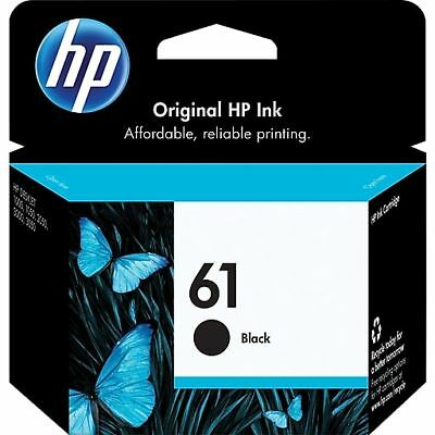 HP 61 Black Ink Cartridge (CH561WN) new never used expires next year or later