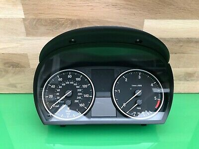 Bmw E90 3 Series 2008-2011 Manual Speedo Clocks 9187345