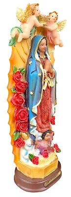 """Our Lady Of Guadalupe Statue Virgin Mary Catholic Virgen De Guadalupe New 10"""""""