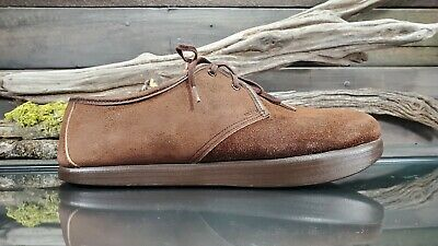 6f3933f09 VTG Earth Kalso Womens Sz 9.5 US Negative Heel Brown Leather Oxford Shoes  USA