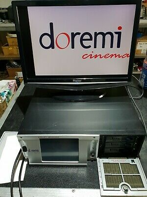 Doremi DCP2000 Cinema Server excellenter Zustand Kinoserver