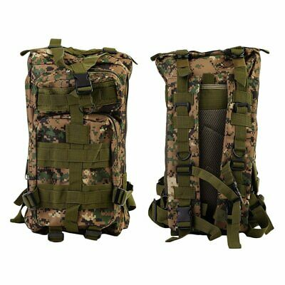 30L Military Tactical Backpack Molle Rucksacks Camping Hiking Trekking Bag~