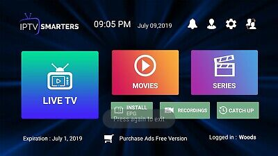 Iptv Service, 1, 3 And 6 Month Subscriptions Available. 24 Hr Trials for Only $1