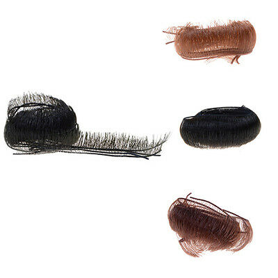 "10Pcs 5/8/10Mm Diy Doll Eyelashes For 1/3 1/4 Reborn 18"" Doll Accessories RS"