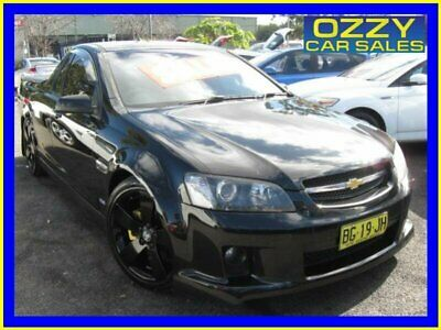 2007 Holden Commodore VE SS-V Black Automatic 6sp A Utility