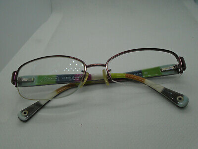 036b69f94164 Coach Womens Eyeglasses Bettie HC 5004 9032 Purple 53-16-135 Half Rim Rx