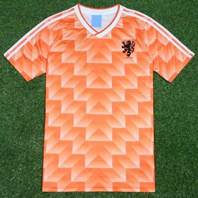 Netherlands 1988 Home Vintage Classic Holland Retro Football Soccer Shirt Jersey