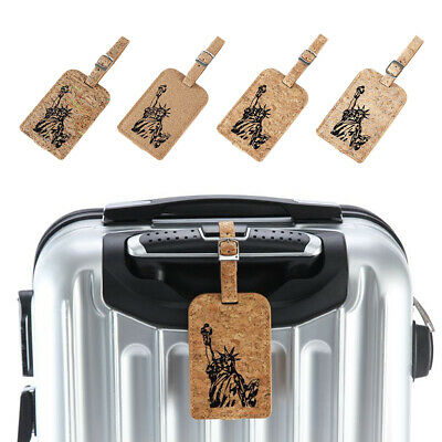 Creative Travel Name Address Label Suitcase ID Luggage Tag Gift NEW