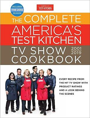the complete america's test kitchen tv show cookbook 2001-2019( PDF/EPUB )