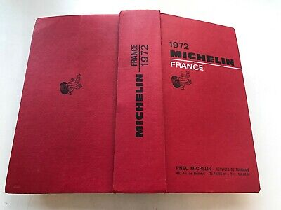 Guide Michelin France 1972