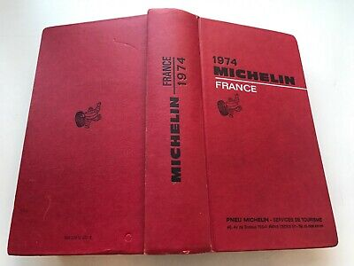 Guide Michelin France 1974