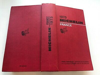 Guide Michelin France 1975