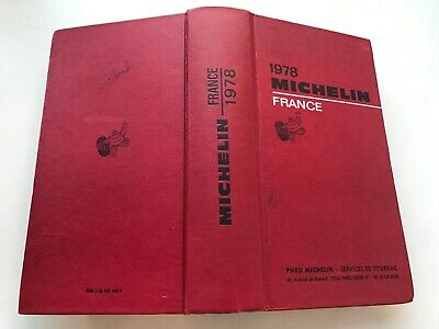 Guide Michelin France 1978