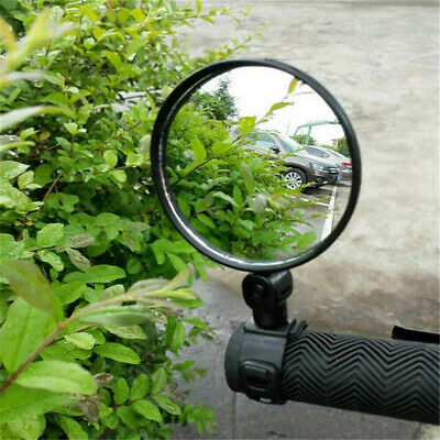 360° Cycling Bike Bicycle Handlebar Flexible Safe Rearview Rear View Mirror HOT