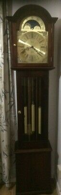 Triple Chime Grandmother Clock By Fenclocks - Cleaned And Serviced. Immaculate