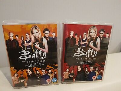 Buffy The Vampire Slayer Complete Series 1-7 DVD Fast Free Post Birthday Gift