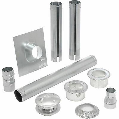 "HeatStar 4"" Vertical Vent Kit"