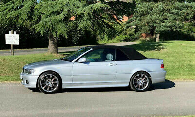 Bmw E46 M3 330 325 320 Ci D Hardtop In Grey With Black Roof Lining
