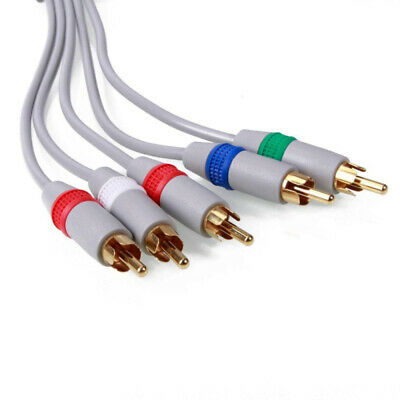 HD Component AV Video-Audio Cable Cord for WII WIIU LLG