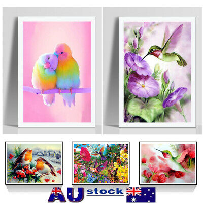 DIY 5D Animals Diamond Painting Full Drill Embroidery Crafts Kits Art Home Decor