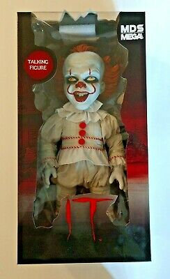 "Mezco Toys Mds Mega Scale It 15"" Pennywise Talking Doll  2018 Nib"