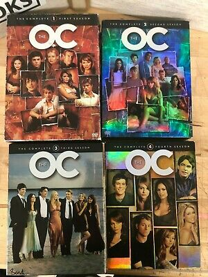 The OC Complete Seriers Disc Set 1, 2, 3, 4 All Four Seasons DVDs