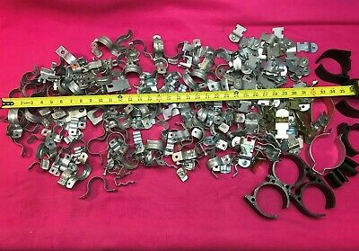 Huge Lot of B-line Clamps, Uni Strut Pipe Clamp, Conduit Hanger