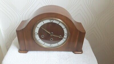 Schatz Triple Chime Mantel Clock.Westminster/Whittington/ St Michael. Working.