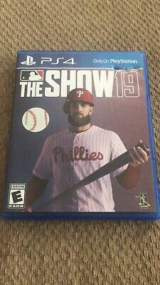 Ps4 MLB 19: The Show (Sony PlayStation 4, 2019) PS4