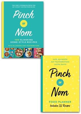 Pinch of Nom Cookbook 2 Books Collection - Pinch of Nom Hardcover & Food Planner