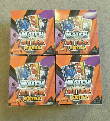 4X Match Attax Extra 2018/19 Football Trading Cards 50 Packets FULL BOX 18/19