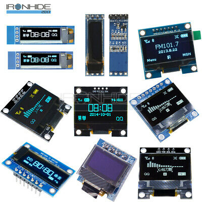 0.49/0.69/0.91/0.96/1.3 inch OLED Display Module Screen IIC I2C/SPI For Arduino
