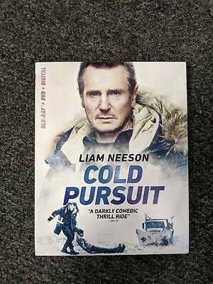 Cold Pursuit BRAND NEW SEALED Blu-Ray + DVD + Digital w/ Slip Cover