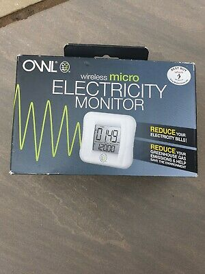 OWL Wireless Electricity Monitor. Box still sealed. New