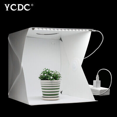 24/30/40cm Portable Light Box Mini Photo Studio Photography Softbox LED Panel