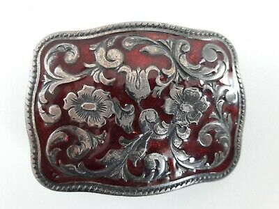 Enamelled Metal Buckle Made In Italy
