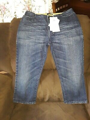c4895db8 VERSACE JEANS COUTURE ITTIERRE Blue Denim VJC Distressed Embroidered ...