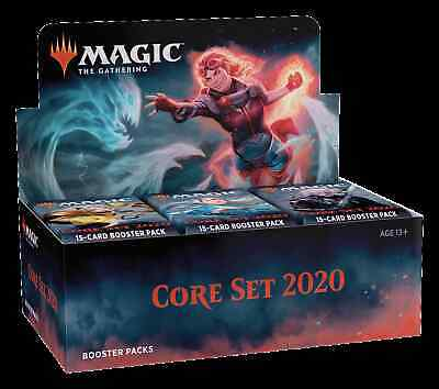 Magic the Gathering Core Set 2020 Booster Box M20 MTG Free Shipping New Sealed