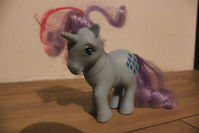 RARE - Mon petit poney, My little pony - Sparkler Unicorn G1 - Hasbro - 1984